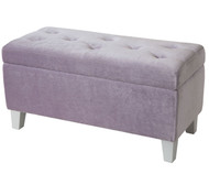 Young Parisian Storage Bench Lavender | Standard Furniture | ST-65181
