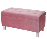 Young Parisian Storage Bench Pink | Standard Furniture | ST-65183