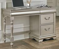 Jessica Student Desk Silver | Standard Furniture | ST-93599