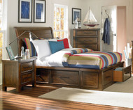 Cameron Storage Sleigh Bed Full Size | Standard Furniture | ST-940526163