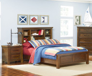 Cameron Bookcase Panel Bed Full Size | Standard Furniture | ST-9409194093