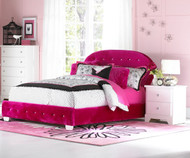 Marilyn Upholstered Bed Full Size Watermelon | Standard Furniture | ST-9435394354