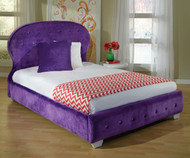 Marilyn Upholstered Bed Full Size Purple | Standard Furniture | ST-9437394374