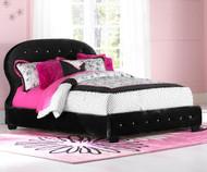Marilyn Upholstered Bed Twin Size Black | Standard Furniture | ST-9439194392