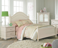 Camellia Poster Bed Twin Size Marshmallow   Standard Furniture   ST-952010203