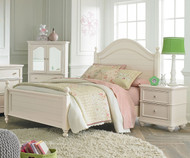Camellia Poster Bed Full Size Marshmallow   Standard Furniture   ST-952040602