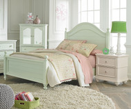 Camellia Poster Bed Twin Size Mint   Standard Furniture   ST-952212223