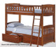 Timber Creek Full over Full Bunk Bed White | 27464 | TCFFB-WH