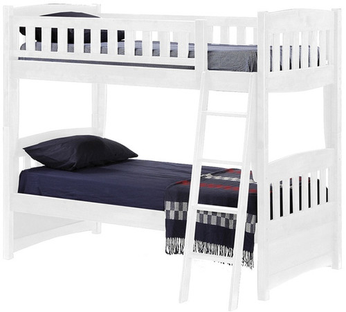 Attractive Timber Creek Bunk Bed White   Night And Day Furniture   TCTTB WH