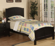 Braxton Twin Size Panel Bed | Poundex Furniture | UF9208CL