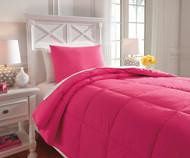 Delair Bedding Set Magenta