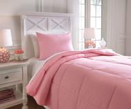 Delair Bedding Set Pink