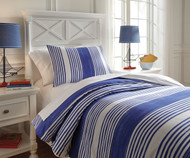 Walson Bedding Set Blue