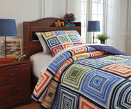 Squarley Bedding Set