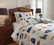 Sports Bedding Set