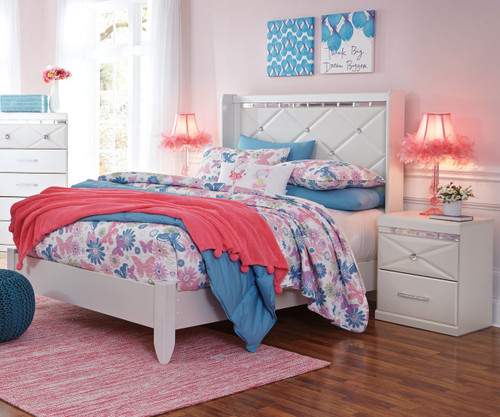 Dreamur Full Size Panel Bed B351