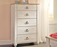 Willowton 5 Drawer Chest
