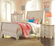 Willowton Sleigh Bed Full Size