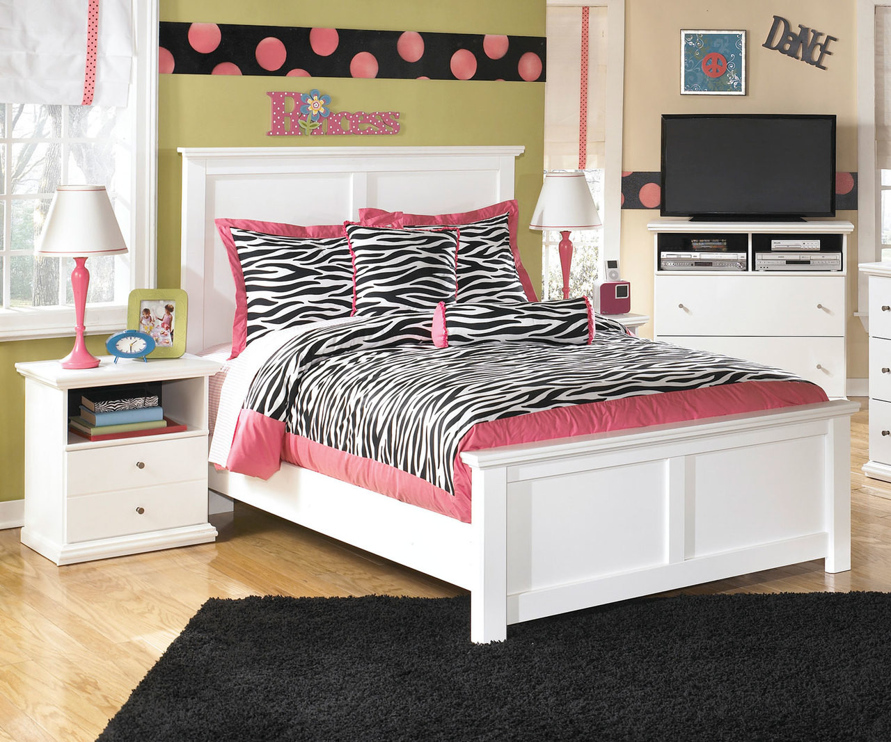 Bostwick Shoals Full Size Panel Bed B139 | Ashley Kids Furniture ...