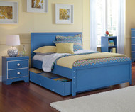 Bronilly Panel Bed with Trundle Full Size