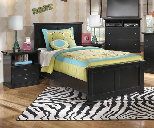 Ashley Furniture Tampa Fl: Maribel Twin Size Panel Bed B138