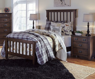 Strenton Panel Bed Twin Size