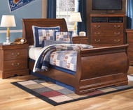 Wilmington Sleigh Bed Twin Size