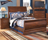 Wilmington Sleigh Bed Full Size