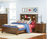 Cameron Bookcase Panel Bed Twin Size | Standard Furniture | ST-9408194083