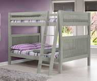 Camaflexi High Bunk Bed Full Size Grey 2