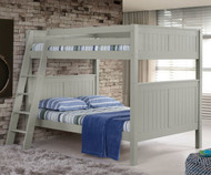 Camaflexi High Bunk Bed Full Size Grey 3