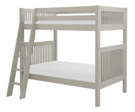 Camaflexi High Bunk Bed Twin Size Grey 3