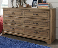 Brobern 6 Drawer Dresser