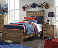 Brobern Panel Bed Twin Size