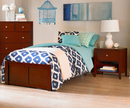 Urbana Platform Bed Twin Size Cherry