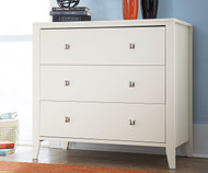 Urbana 3 Drawer Chest White