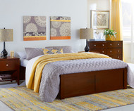 Urbana Platform Bed Full Size Cherry