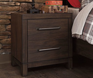 Brissley Two Drawer Nightstand