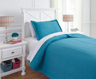 Braston Bedding Set Turquoise