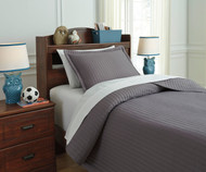 Braston Bedding Set Gray