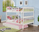 Carolina Full over Full Bunk Bed White | 24875 | DT123-3W