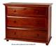 Maxtrix 3 Drawer Dresser Natural | Maxtrix Furniture | MX-4230-N