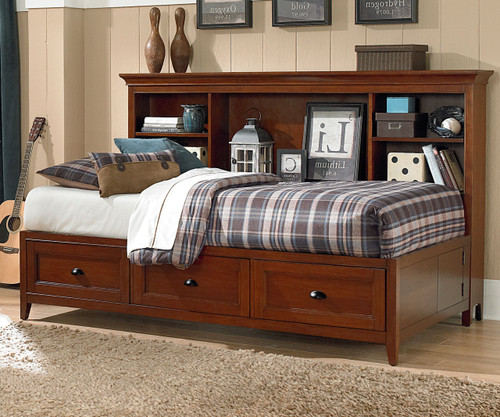 Riley Lounge Bed Full Size | Magnussen Home | MHY1873-69