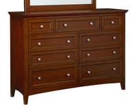 Cooperstown 9 Drawer Dresser