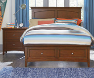 Cooperstown Storage Panel Bed Twin Size