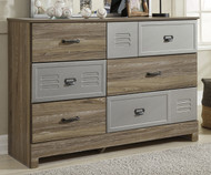 McKeeth 6 Drawer Dresser