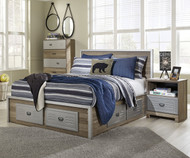 McKeeth Storage Panel Bed Full Size