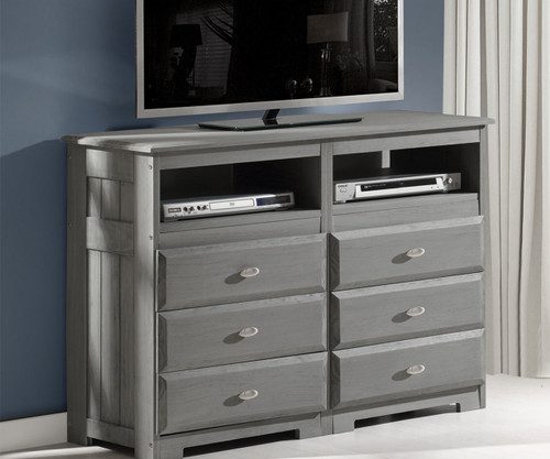... Westport Gray Entertainment Dresser. Image 1