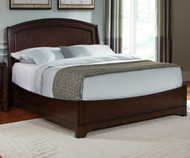 Avalon Platform Bed Full Size Dark Truffle