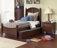 Abbott Ridge Panel Bed with Trundle Full Size